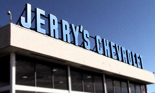 Welcome To Jerry S Chevrolet